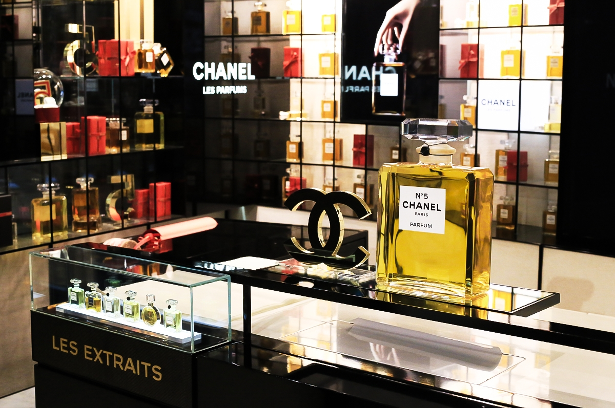 Chanel Les Extraits, perfumy Chanel, Selfridge&Co