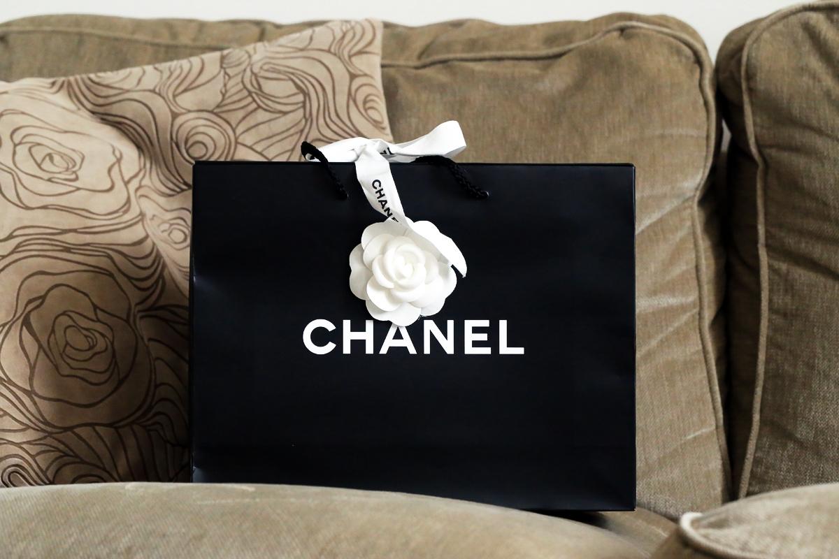 Torebka Chanel, butik Chanel Londyn