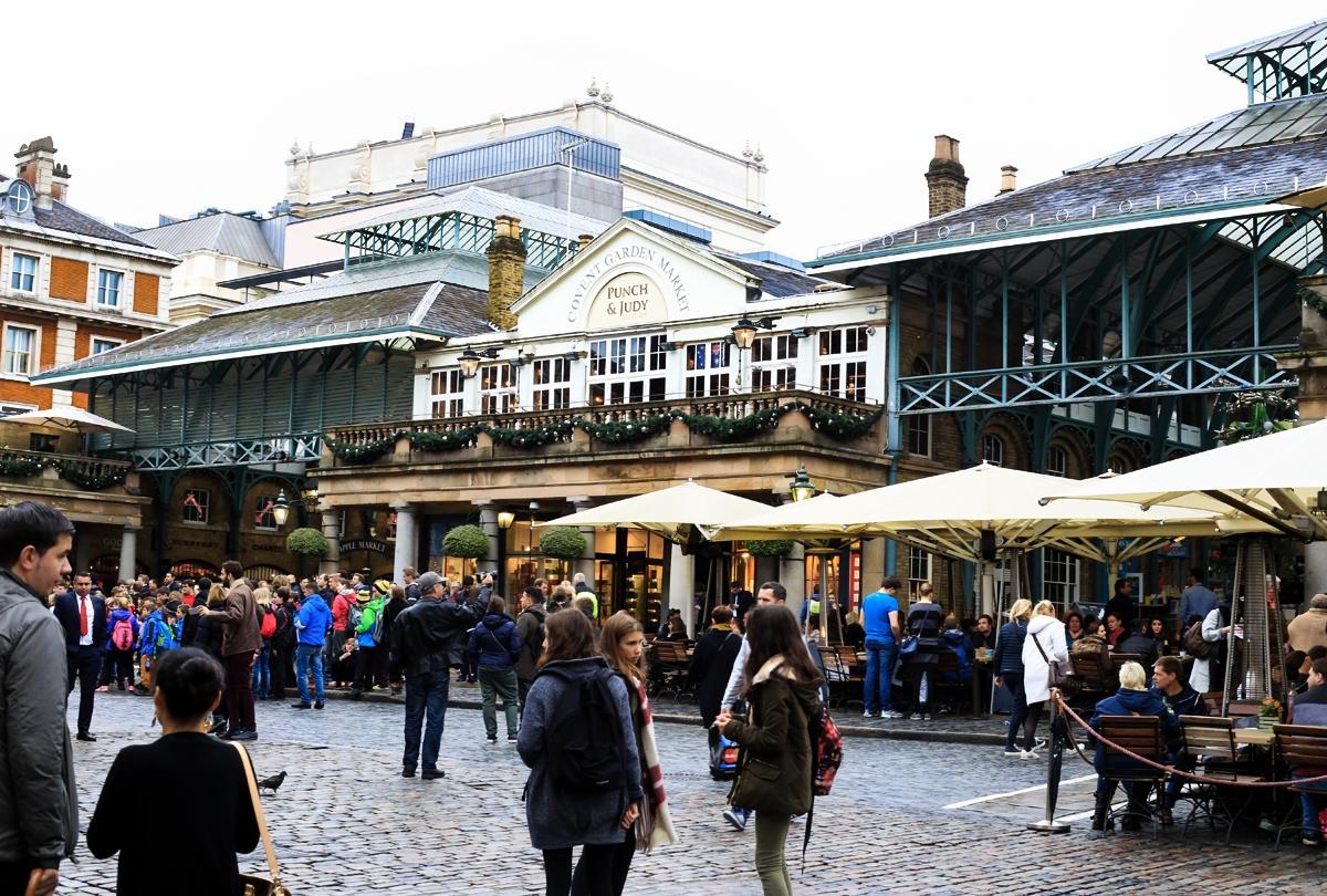 Covent Garden Market, Londyn, zakupy Londyn