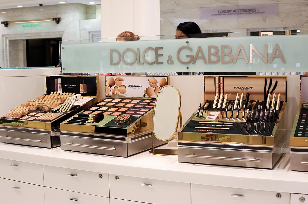Dolce&Gabbana Harrods, Harrods Londyn