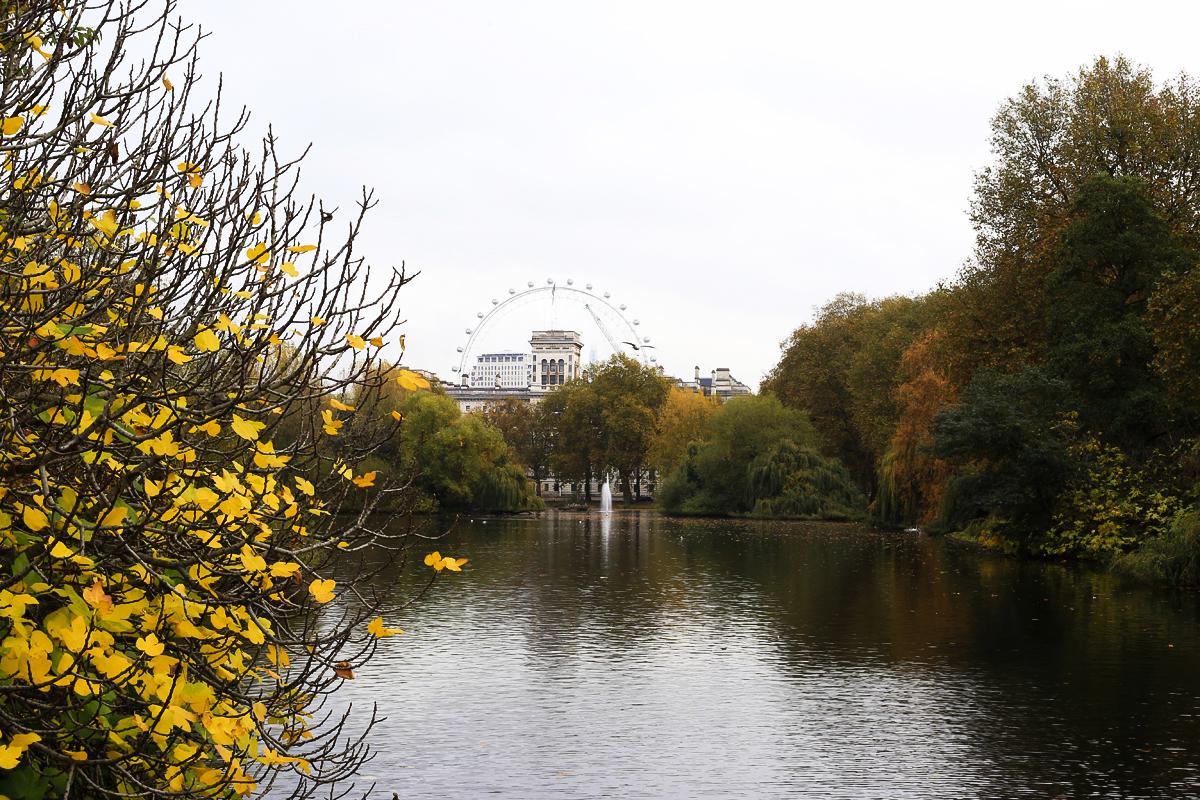Londyn St. James, park Londyn