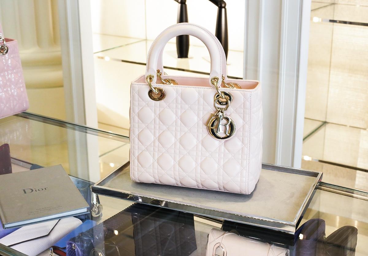 Torebka Lady Dior, Londyn Selfridges