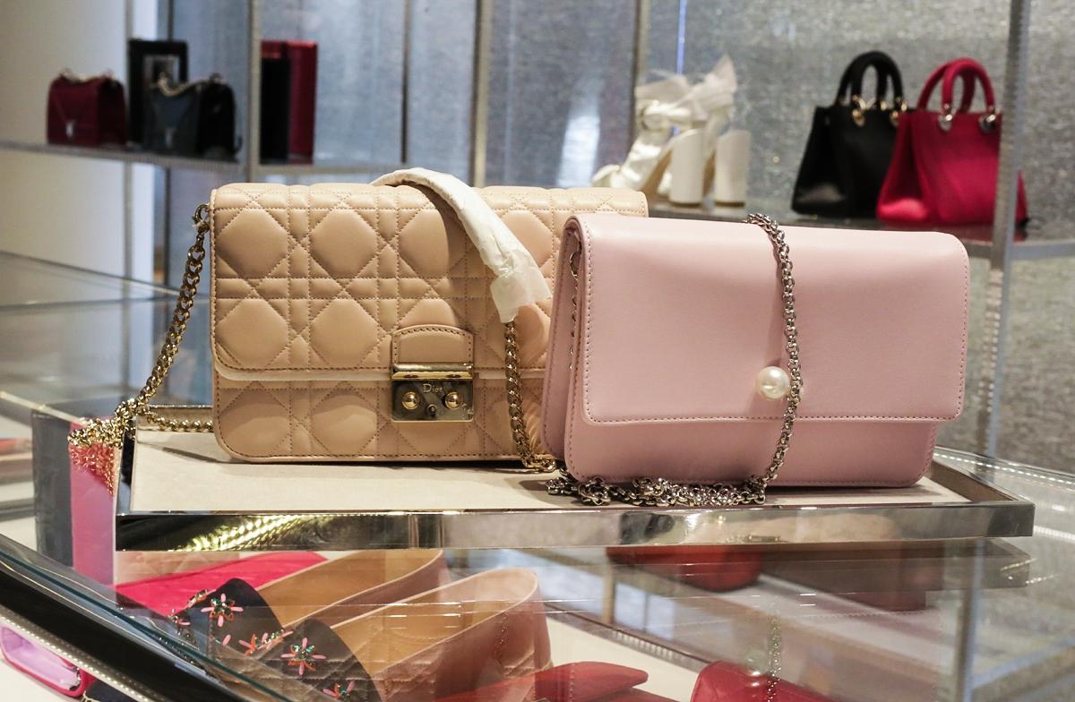 Dior Cannage, Dior Bag, Torebka Dior, Londyn Selfridges