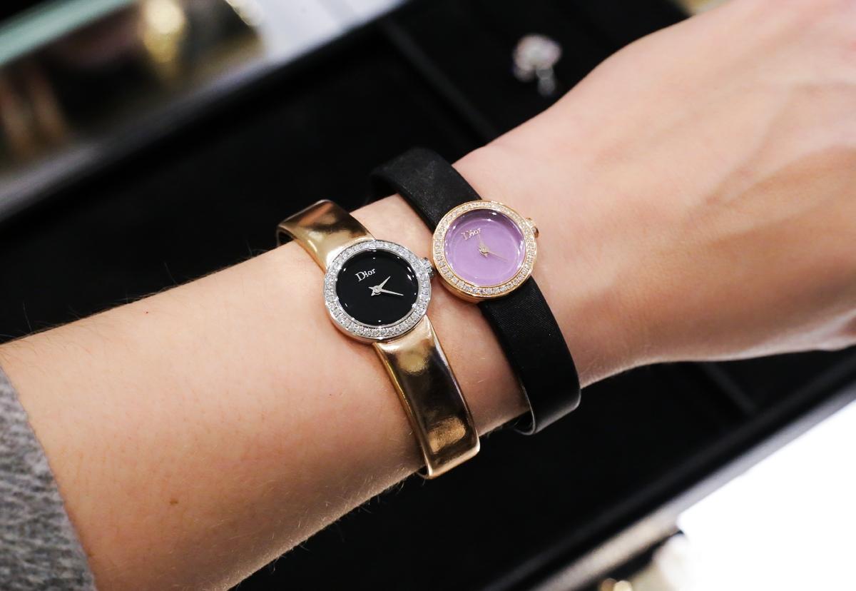 Zegarek Dior, Dior Handwatch, Dior Harrods