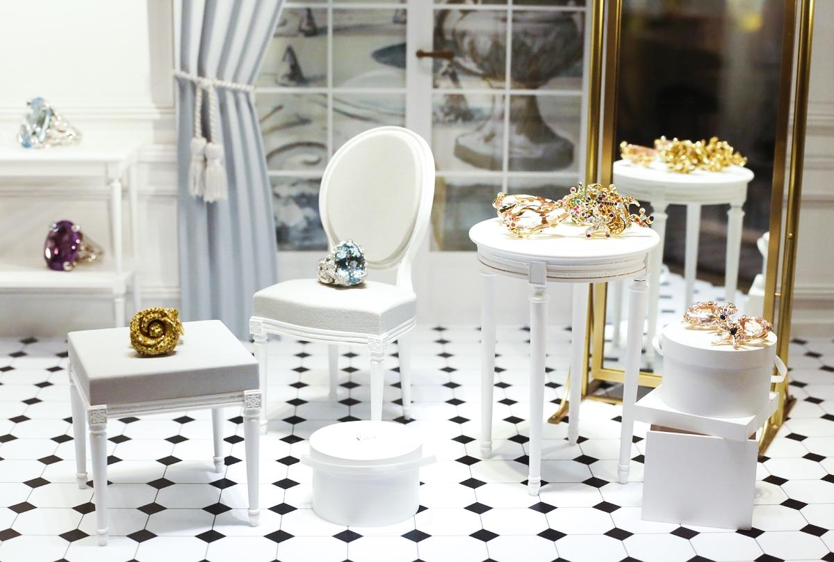 Dior Jewellery Harrods, Biżuteria Dior