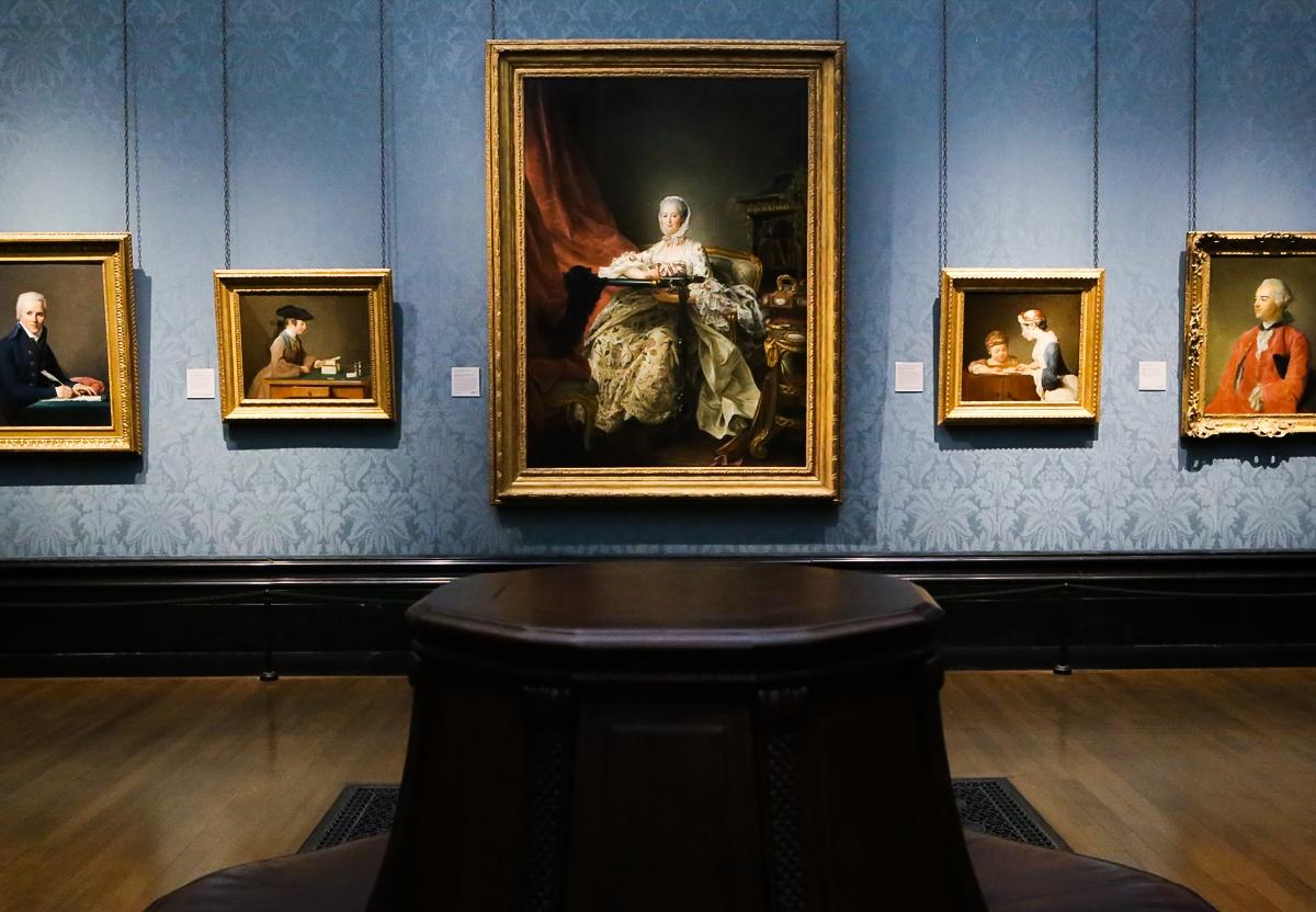 Trafalgar Square, The National Gallery, Londyn