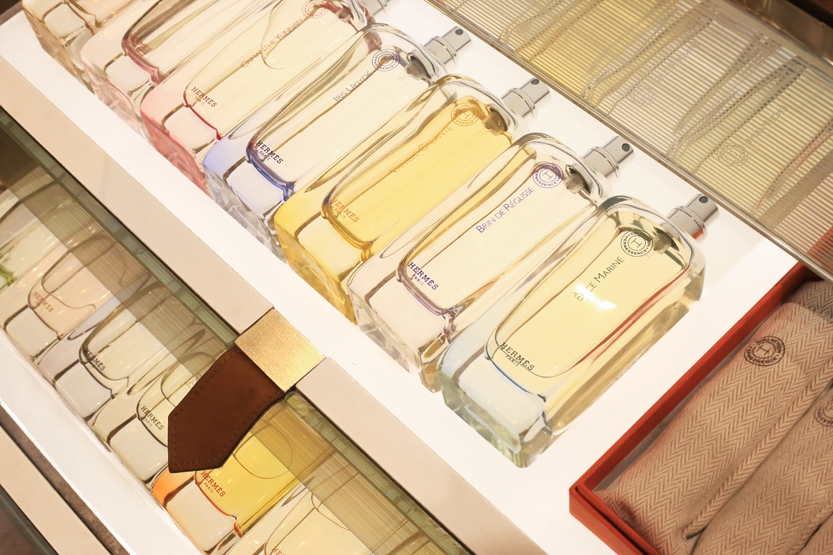 Hermes perfumy, Selfridge&Co
