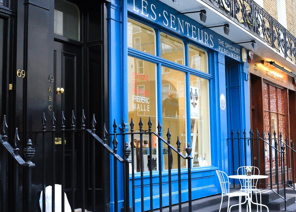Les Senteurs London, perfumeria niszowa, Londyn