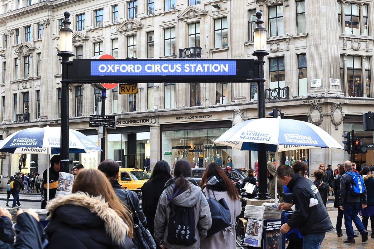 Londyn Oxford Circus