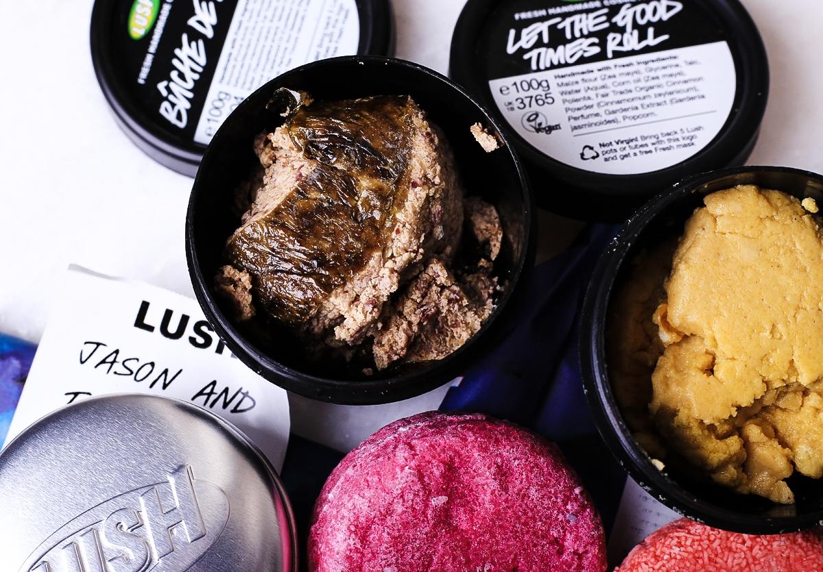 Sklep Lush w Londynie, kosmetyki Lush, Lush Buche de Noel