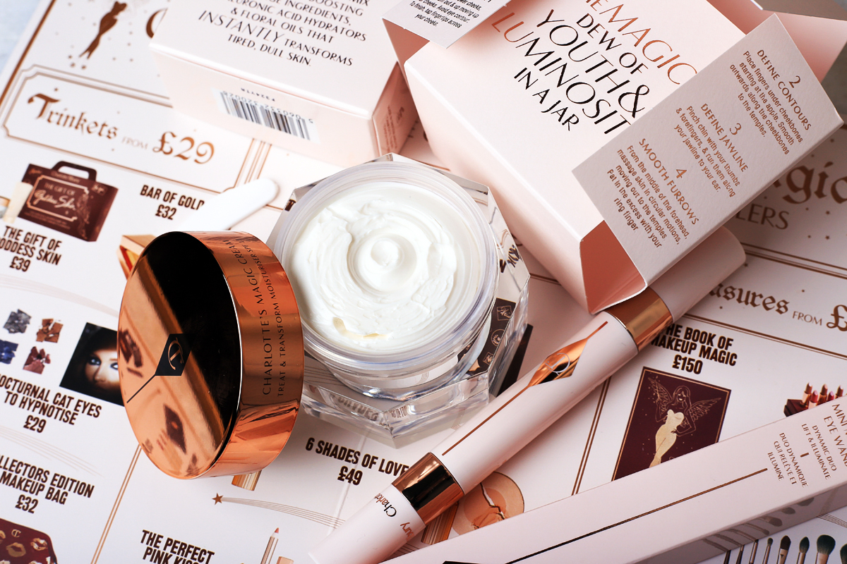 MAGIC CREAM Charlotte Tilbury, zakupy Harrods