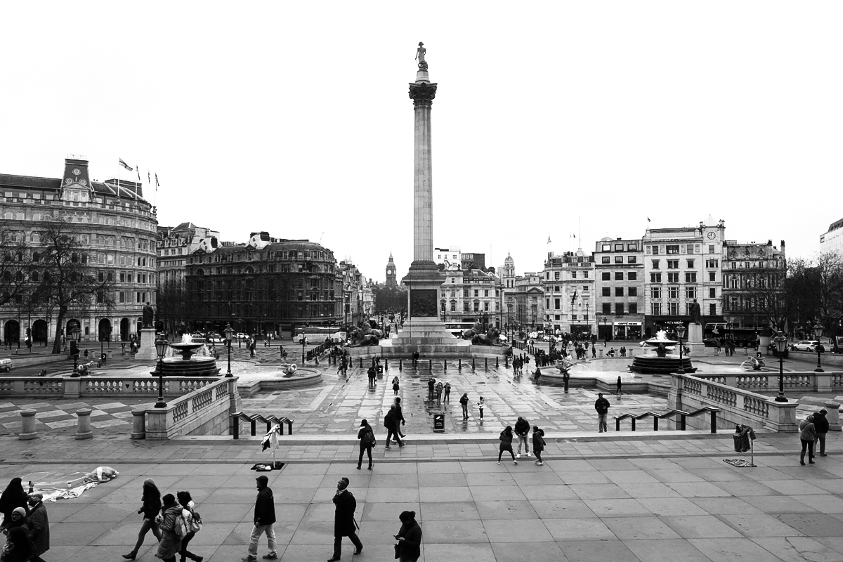 Trafalgar Square, Londyn, The National Gallery