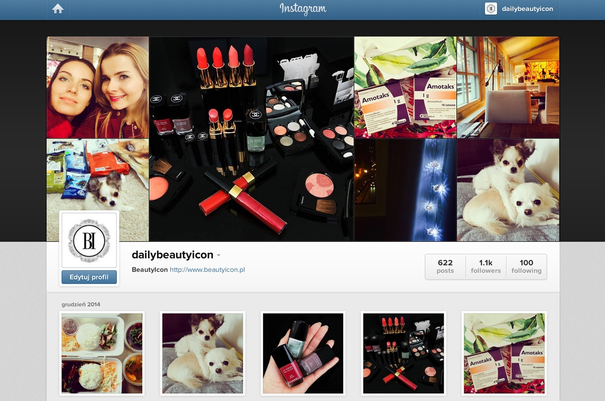 Instagram Dailybeautyicon