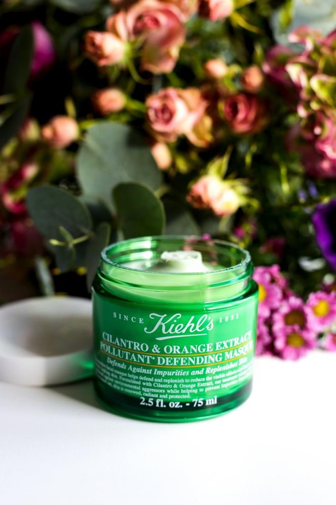 Maska Kiehl's Cilantro Orange Extract, pielęgnacja Kiehls, kosmetyki Kiehls