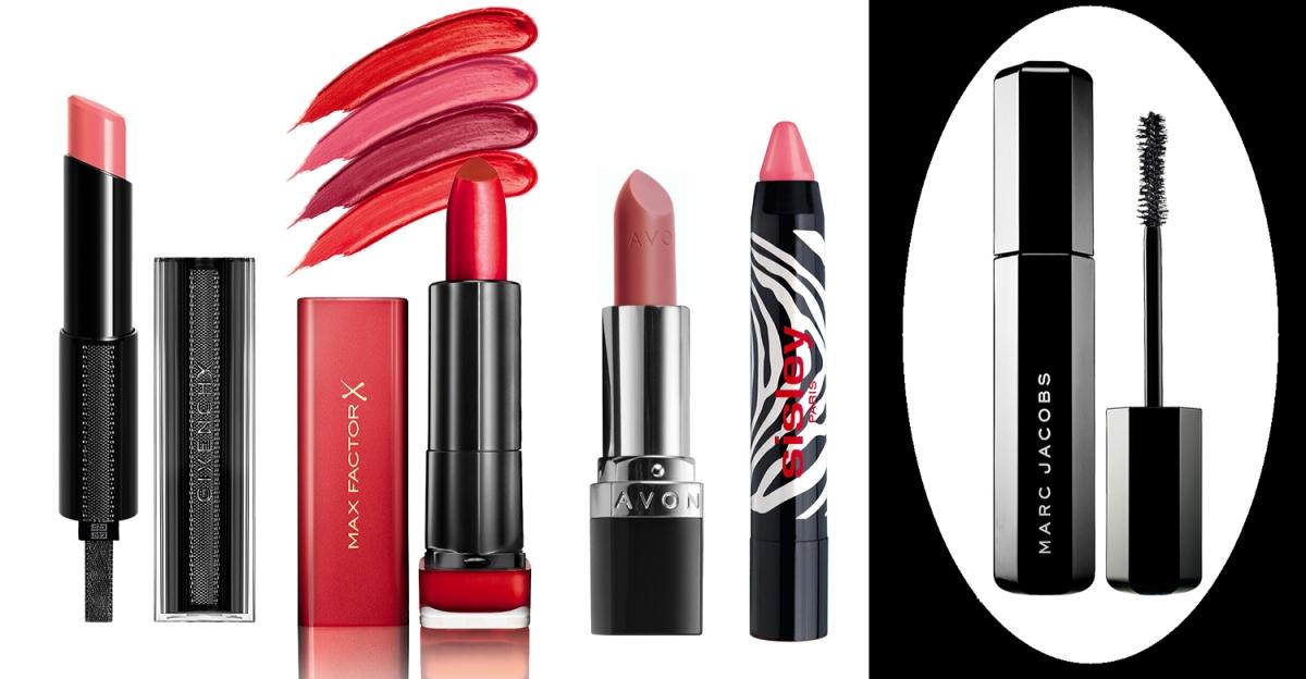 Ulubione kosmetyki 2016, Avon True Colour Perfectly Matte, Sisley Phyto-Lip Twist Sugar, Givenchy Rouge Interdit Vinyl, Marc Jacobs Velvet Noir