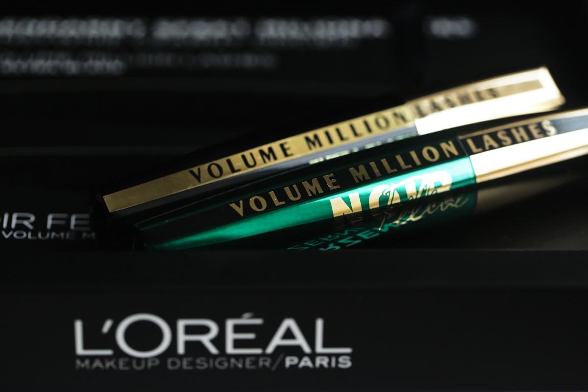 L'Oreal Paris Volume Million Lashes, maskara L'Oreal, Volume Million Lashes
