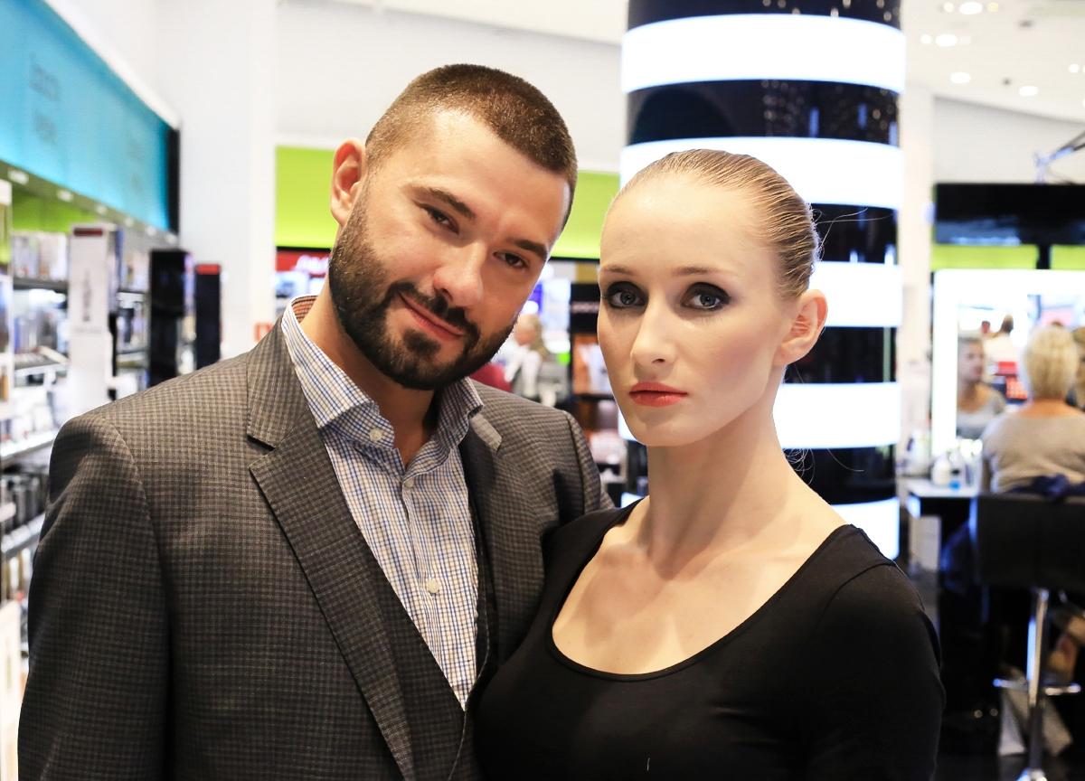 Sephora Trend Report Jesień 2015, Dariusz Kotarski Estee Lauder Polska, zmysłowe smokey eyes