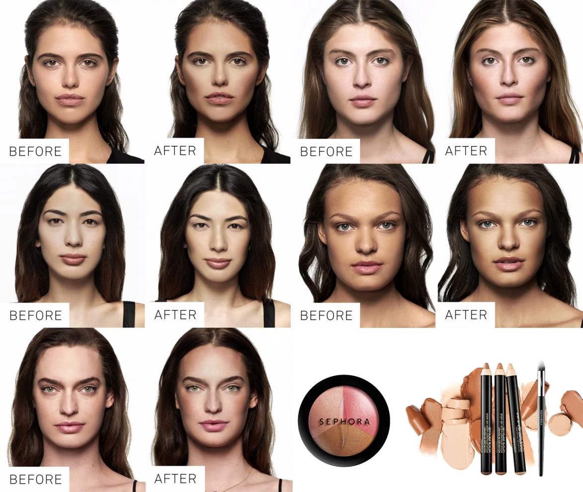 Trendy makijażowe - Konturowanie 2015