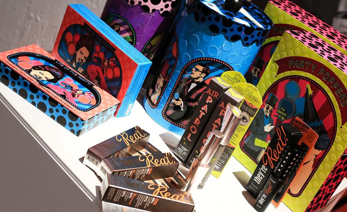 Zestaw do makijażu Benefit, pomysły na prezent Sephora