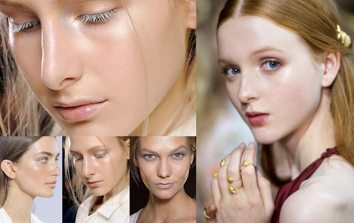 Trendy makijażowe - Strobing 2015