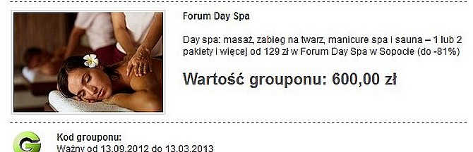 Forum Day SPA Sopot opinie