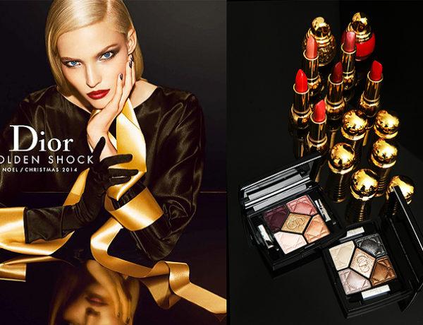 dior golden shock makijaz makeup