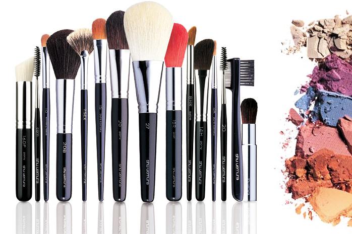 Pędzle makijaż