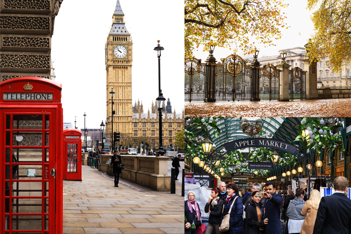 londyn zakupy
