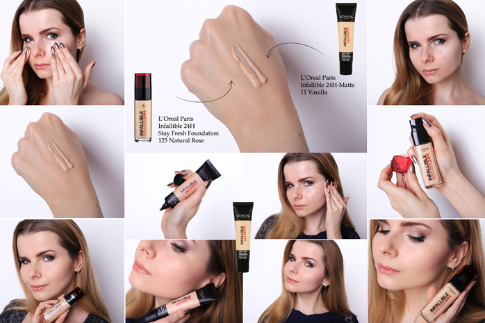 loreal infallible test podkladow