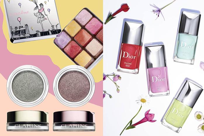 wiosna 2016 makijaz kosmetyki