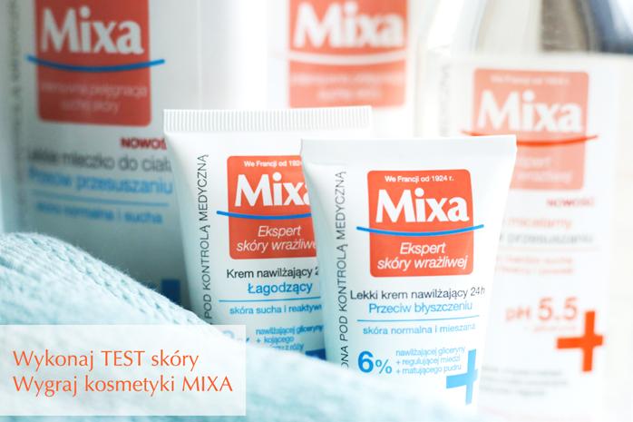 TEST skóry MIXA