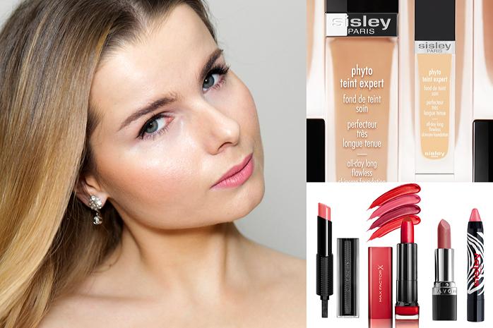 Ulubione kosmetyki Sisley, Max Factor, Givenchy, Avon