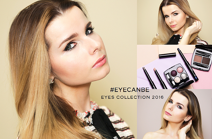 Eye Can Be Chanel, Chanel Makeup, Chanel Kristen Stewart, Chanel Les 4 Ombres
