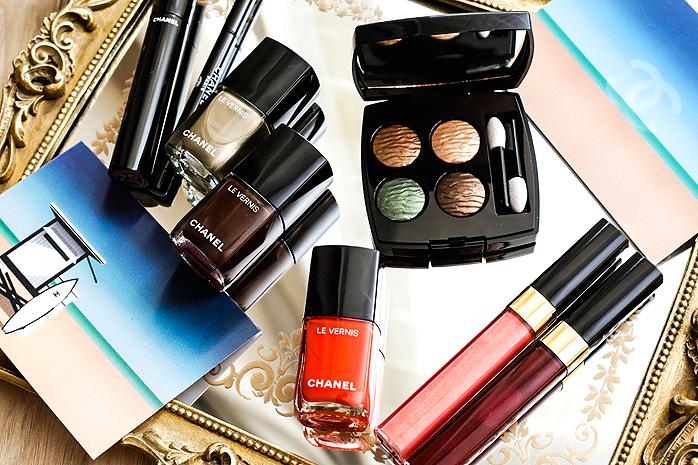 chanel la dans summer makeup 2016