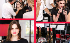 chanel lucia pica X le rouge collection n1