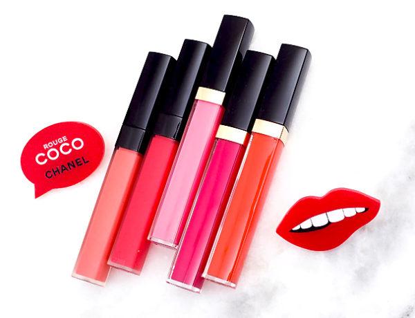 makijaz 2018 chanel rouge coco lip blush
