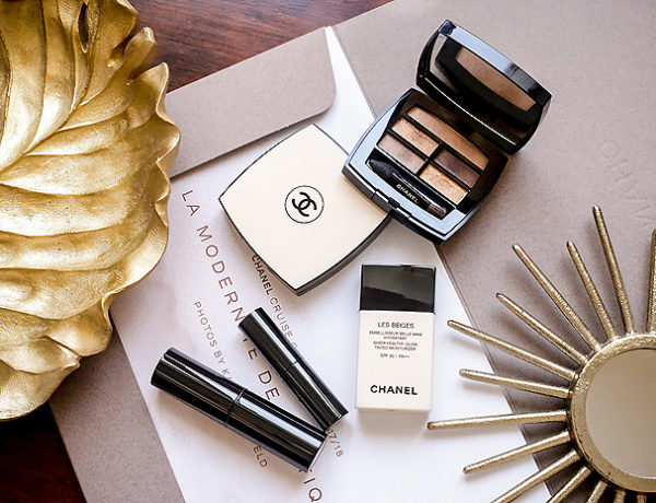 chanel les beiges makeup 2018