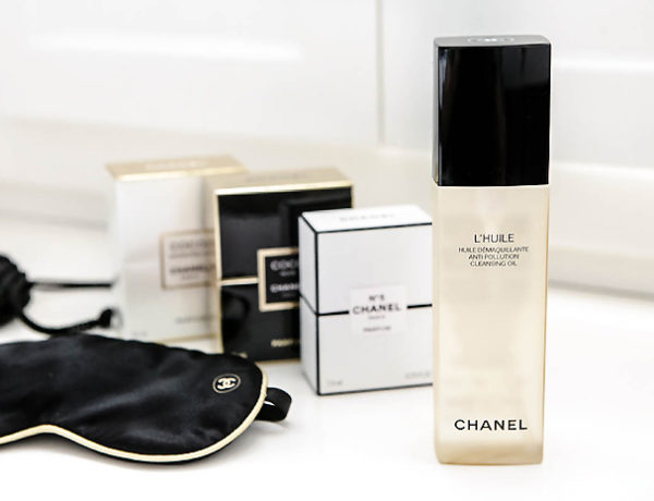 l huile chanel cleansing collection 2018