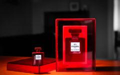 chanel 5 limitowany czerwony flakon