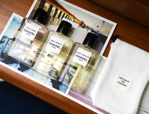 recenzja zapachow les eaux de chanel